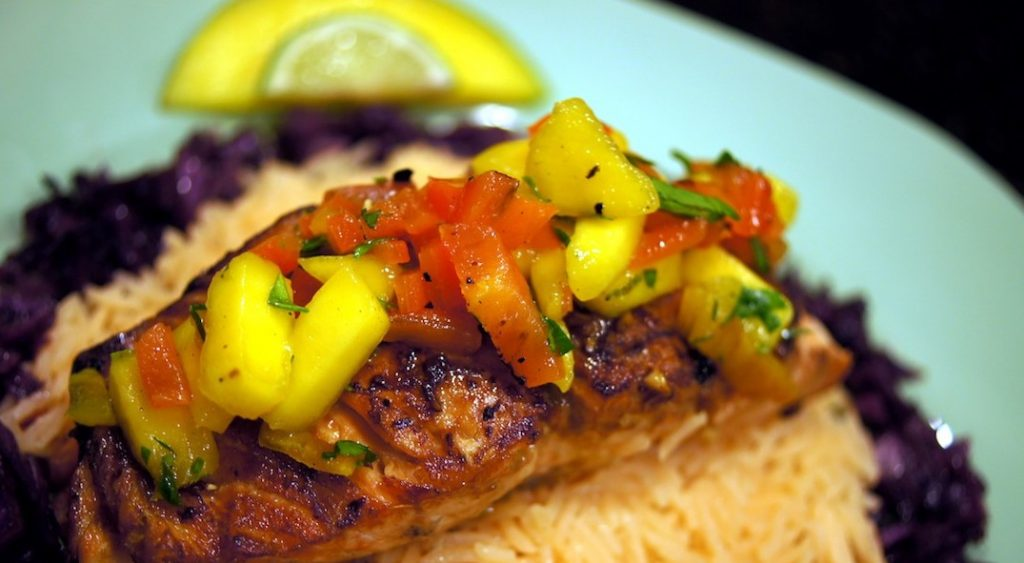 Pan-Roasted Wild-Caught Salmon with Asian-Inspired Marinade